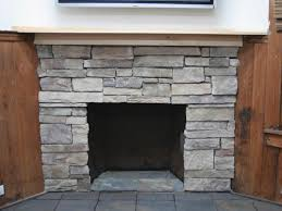 furniture ideas random square patterned brick fireplace with grey stone color refinish and refacing