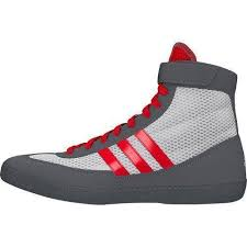 adidas youth wrestling shoes. white \u0026 red grey adidas combat speed iv wrestling shoes youth