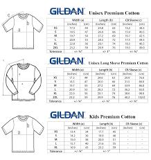 Gildan T Shirt Sizing Cm Rldm