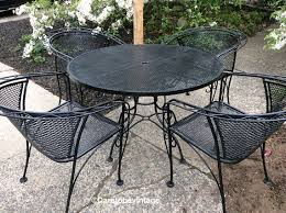 salterini wrought iron furniture. mid century salterini russell woodard wrought iron patio set vintage furniture