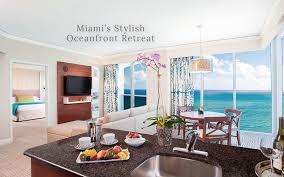 Miami 2 Bedroom Suites Trump Miami A Miami Hotel Where Lifestyle Meets Luxury