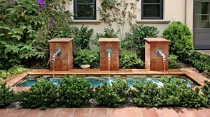 Fountain Water Feature Design 15 Gorgeous Patio Fountain Ideas Hgtvs Decorating