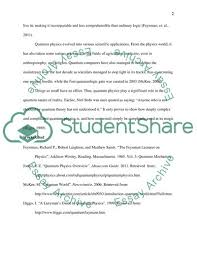 What Is Quantum Physics Essay Example Topics And Well