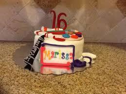 Granddaughters 16th Birthday Cake Chocolate Cake Cookies Amp Cream