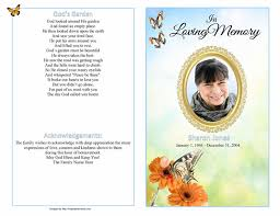 sample of obituary funeral booklet sample funeral programs obituary booklets