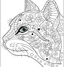 Cat Coloring Pages Dog And Printable For Adults Bonnieleepanda