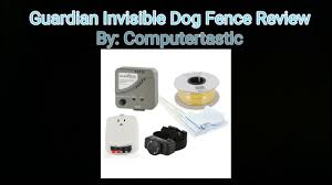 guardian invisible dog fence review