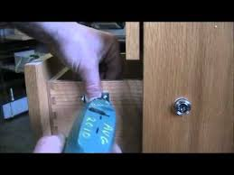 wood file cabinet with lock. Install Simple Plunger Lock On Wood Drawer Of Filing Cabinet File With T