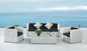 Whitewickerpatiofurnitureforbetterpositioningontheporch White Resin Wicker Outdoor Furniture
