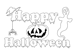 Small Picture Happy Halloween Coloring Pages Pata Sauti