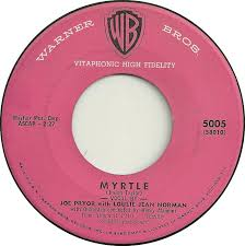 Jimmy Joyce - When The Crab Grass Blooms Again / Myrtle - Warner Bros. -  USA - 5005 - 45cat