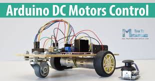 arduino dc motor control tutorial l298n pwm h bridge howtomechatronics