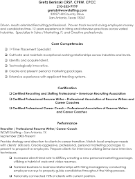 Staffing Recruiter Resume Example Staffing Agency Recruiter Resume