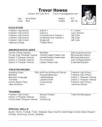 Promotional Model Resume Template Cool Model Resume Sample Modeling Resume Objective Teen Sample