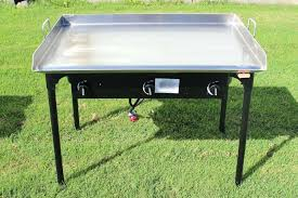 propane flat top grill stainless steel outdoor