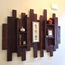 pallet wall art ideas diy wooden wood frame decor