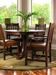 stickley round pedestal dining table used furniture enchanting furniture dining room tables round pedestal dining