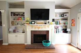 Living Room With Fireplace And Tv Decorating Living Room Ideas Tv Above Fireplace House Decor