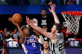 Spurs vs. 76ers Game Recap 08/03/20 ‣ LEAGUEALERTS