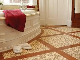 Choosing Bathroom Flooring HGTV - Non slip vinyl flooring for bathrooms