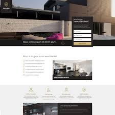 real state template real estate landing page free responsive website template