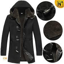 black sheepskin coat cw878135 cwmalls com