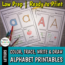 Letter Practicing Alphabet Printable Activity Pages For Practicing Letter Formation