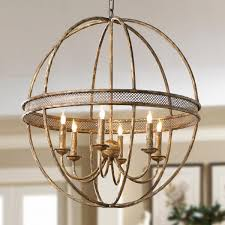 well known metal sphere chandelier with lattice banded sphere chandelier aged golden lattice adds the regal