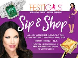 festigals event held in conjunction with the new orleans gift and jewelry show