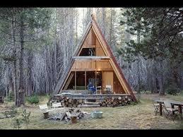 how to build an a frame tiny house cabin