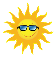 Image result for sun with sunglasses