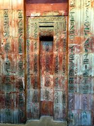 it s thursday and time for another door this week i have a very very old door it curly lives in the british museum london but over four millennia