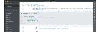Brackets A Modern Open Source Code Editor That Understands Web