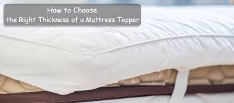 thick mattress topper. Table Of Contents Thick Mattress Topper
