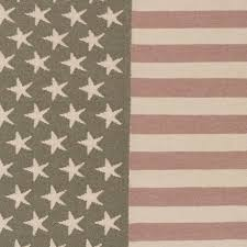 colorful american flag area rug