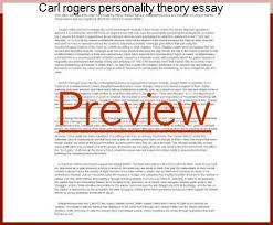 personality theories carl rogers personality theory essay essay writing service