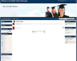 moodle templates online university moodle theme