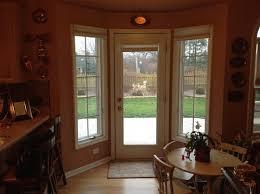 window covering ideas for back door