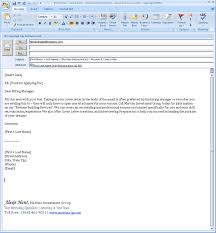 Body Of Cover Letter In Email - Cover Letter Format with regard to Cover  Letter In