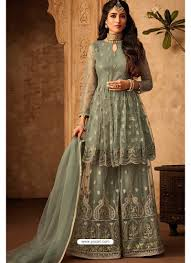Designer Sharara Suits Indian Ethnic Wear Online Store