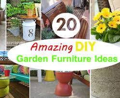 diy garden furniture ideas. 20 amazing diy garden furniture ideas patio outdoor design 22