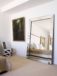 Contemporary Design Large Bedroom Mirror Big Bedroom Mirrors Mirror The And  Standing On