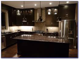 Dark Kitchen Cabinets With Light Granite New Kitchen Enchanting Kitchen Backsplash For Dark Cabinets Backsplash