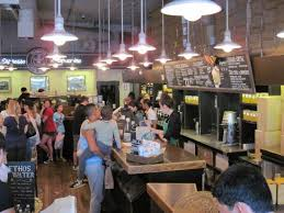 busy starbucks interior.  Interior The Crazy Busy Historic Pike Place Starbucks Store 07June15 To Busy Interior O
