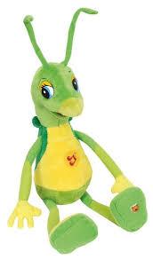 <b>Мягкая игрушка Мульти</b>-<b>Пульти</b> Кузнечик Кузя 28 см — купить по ...