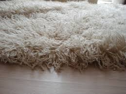 details about 5 7 x 7 5 natural white vintage flokati 100 natural wool rug 7500 gram