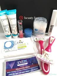 target beauty box august 2016 review