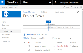 Sharepoint Gantt Chart Date Range How To Hide The Timeline In The Task List Of Sharepoint 2016