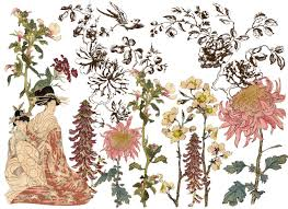 Iron Orchid Designs Iron Orchid Designs Decor Transfers Japonica