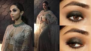 deepika padukone iifa 2016 smoky eye makeup tutorial clista you